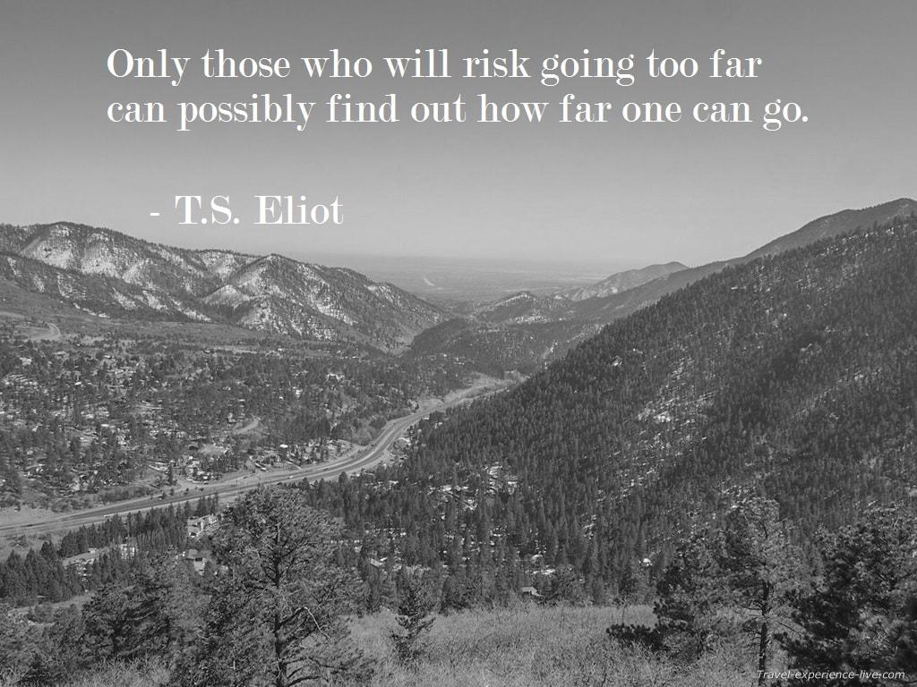 T.S. Eliot Quote.