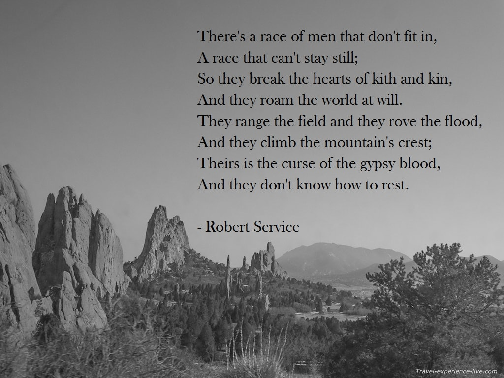 Travel Quote by Robert Service