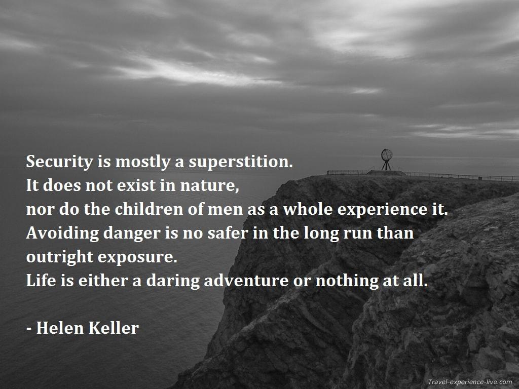 Helen Keller Quote.