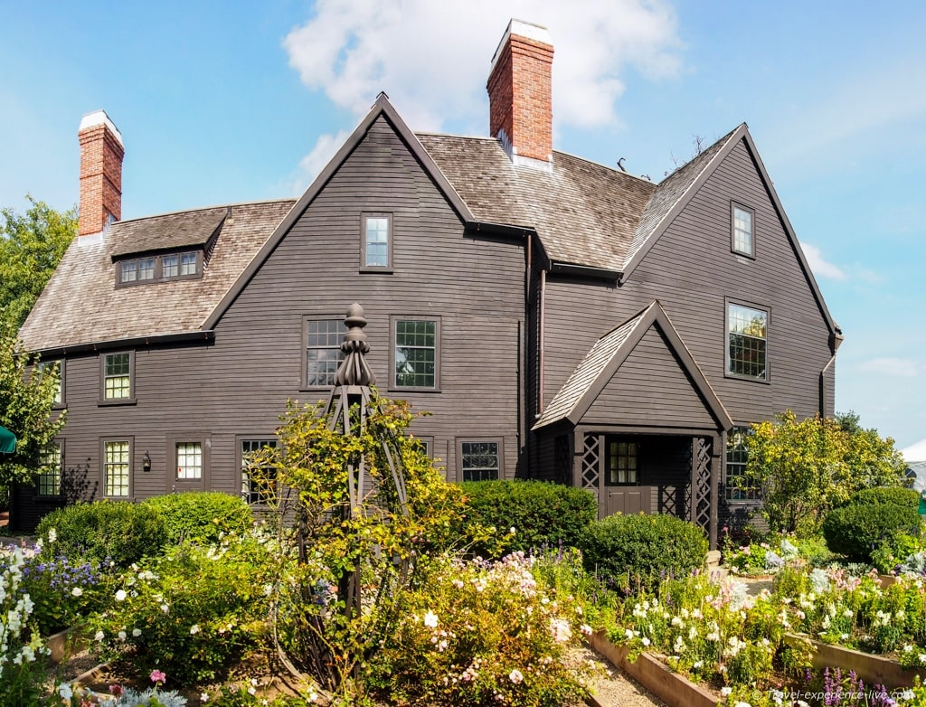 House of the Seven Gables, Salem.