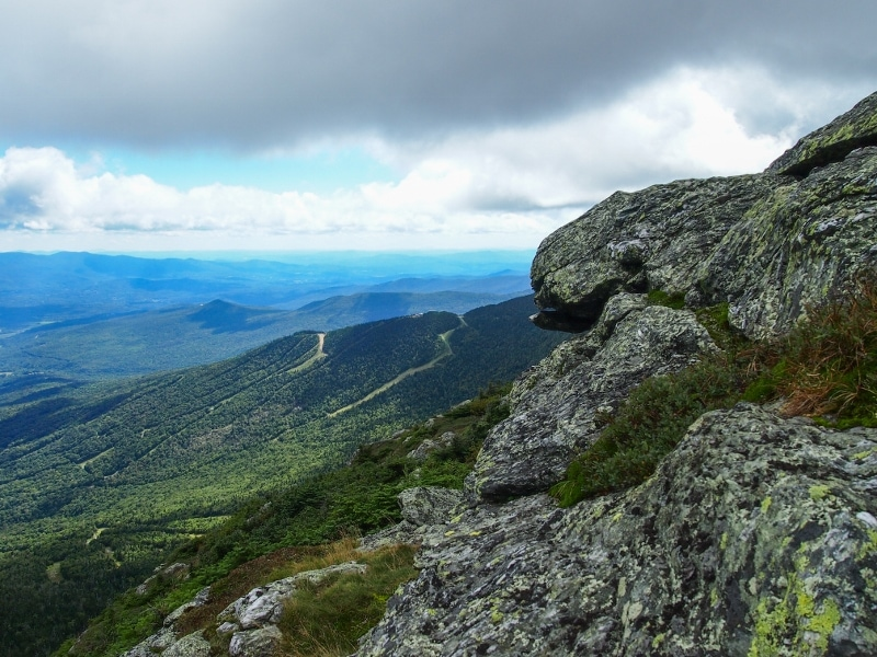 Mount Mansfield Summit, Vermont.