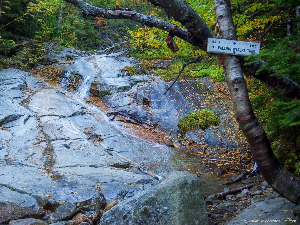 Falling Waters Trail, Mount Lafayette, NH
