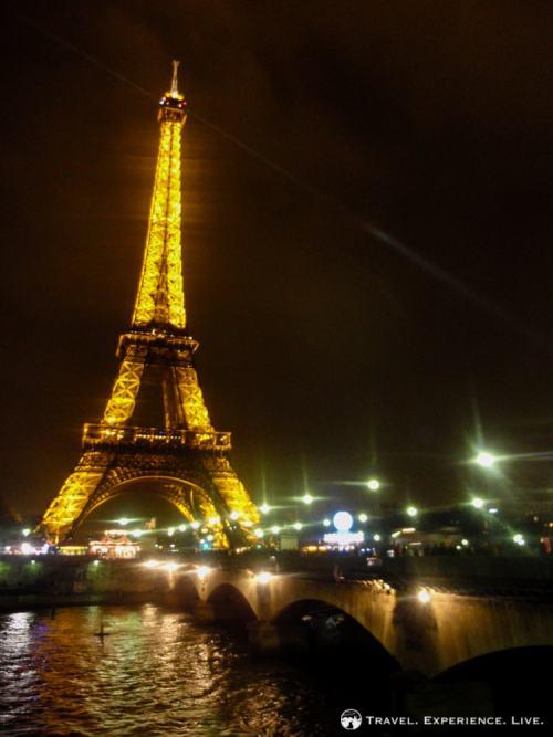 The Eiffel Tower, a symbol of Paris