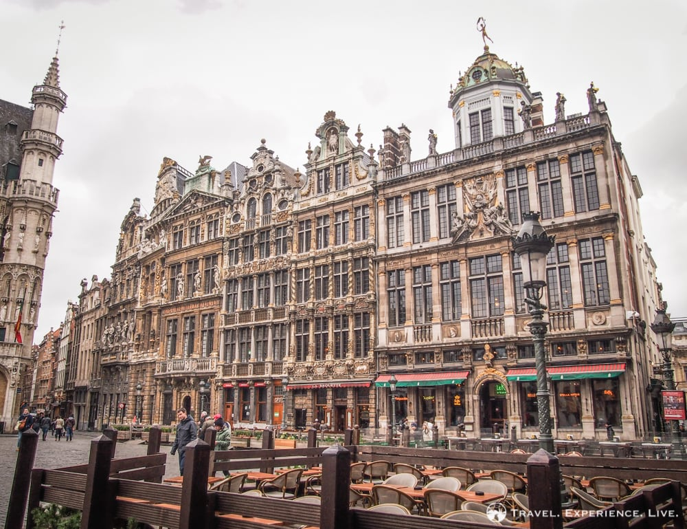 Grand Place in Brussels, Belgium