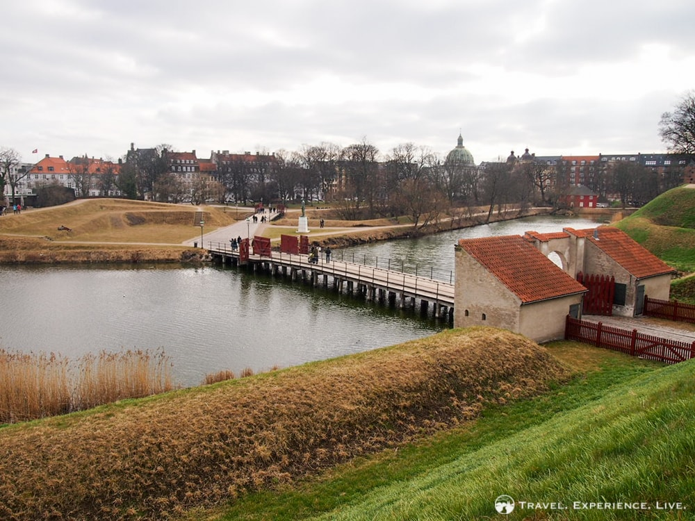 Kastellet is a star-shaped fortress