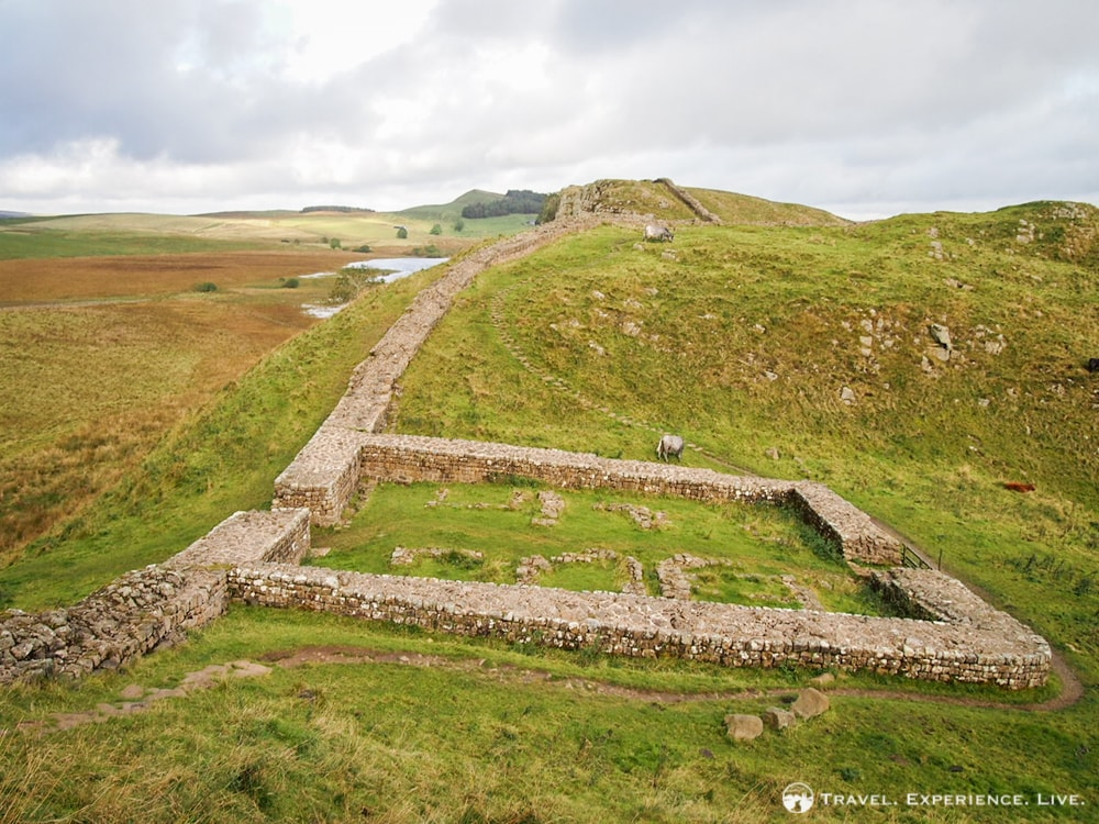 Milecastle along Hadrian's Wall