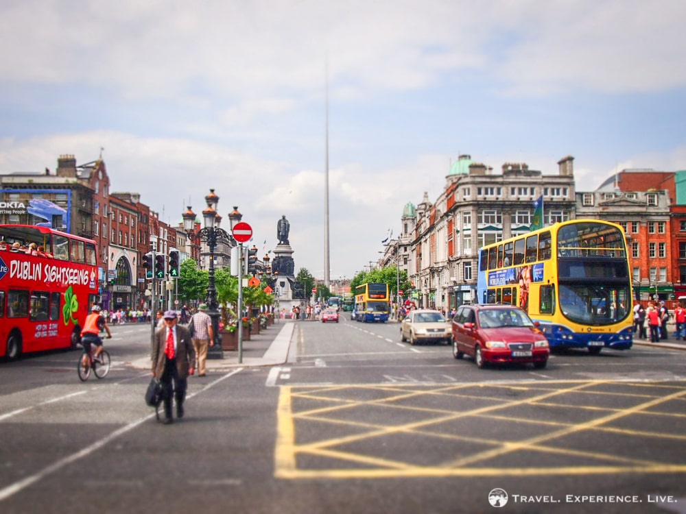 O'Connell Street and The Spire