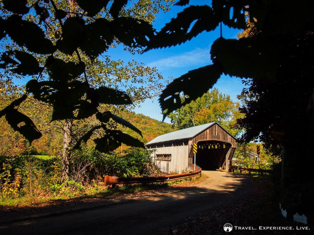 Covered Bridges of Vermont: Worrall Bridge