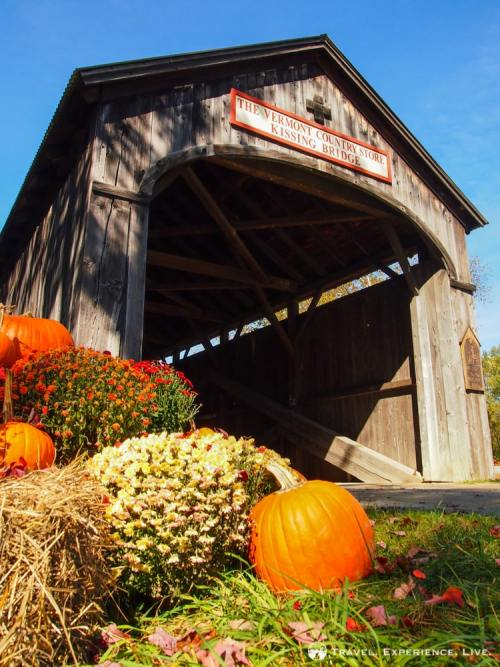 Covered Bridges of Vermont: Victorian Village Bridge