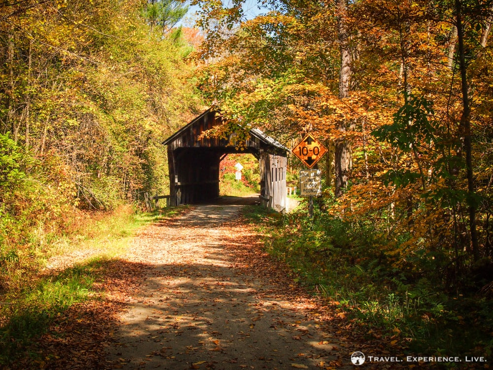 Salmond Covered Bridge, Amsden, Vermont