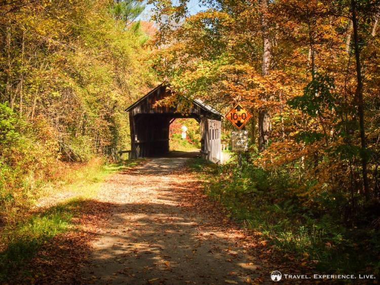 Salmond Covered Bridge, Amsden, Vermont
