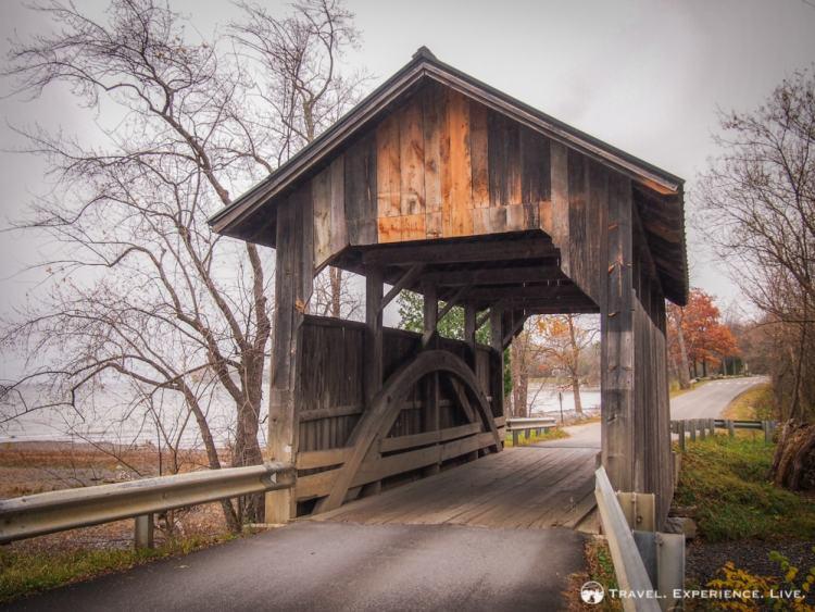 Holmes Creek Bridge, Charlotte, Vermont