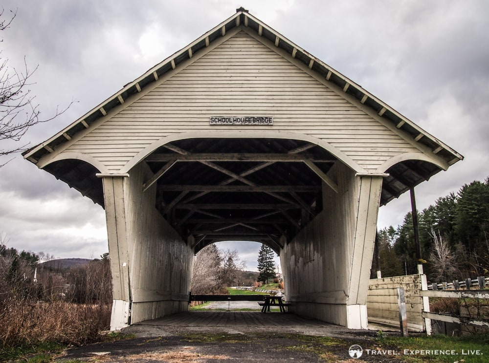 Covered Bridges of Vermont: Schoolhouse Bridge, Lyndon