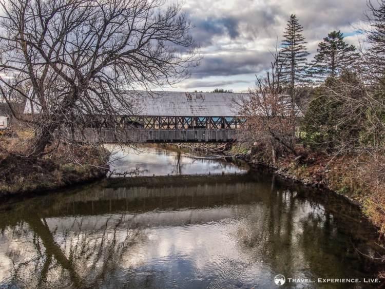 Covered Bridges of Vermont: Sanborn Bridge