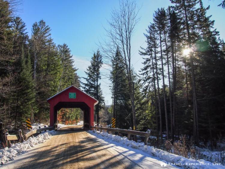 Covered Bridges of Vermont: Moseley Bridge