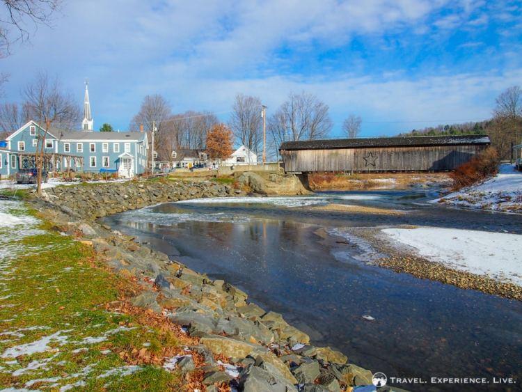 Village Bridge, Waitsfield, Vermont