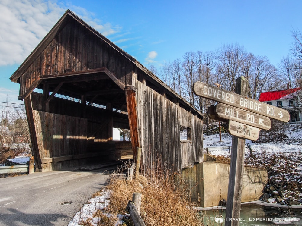 Covered Bridges of Vermont: Lincoln Gap Bridge