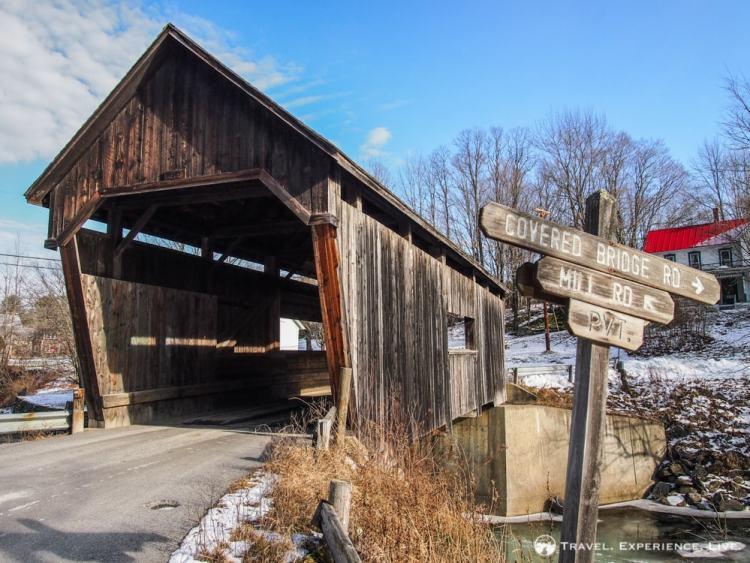 Covered Bridges of Vermont: Lincoln Gap Bridge