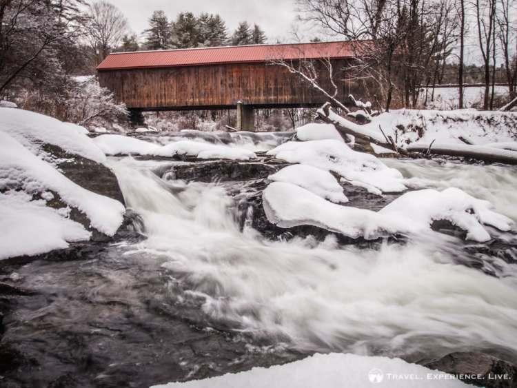 Sayres Covered Bridge, Thetford, Vermont