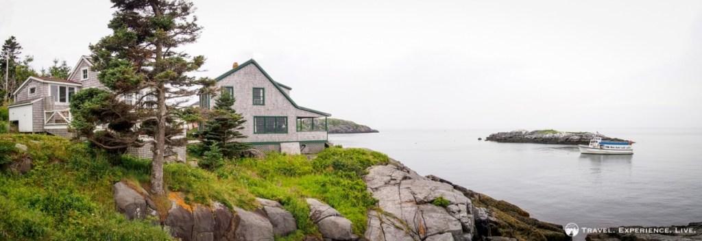 Coastline of Monhegan Island, Maine