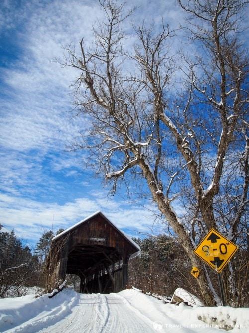 Coburn Bridge in East Montpelier, Vermont