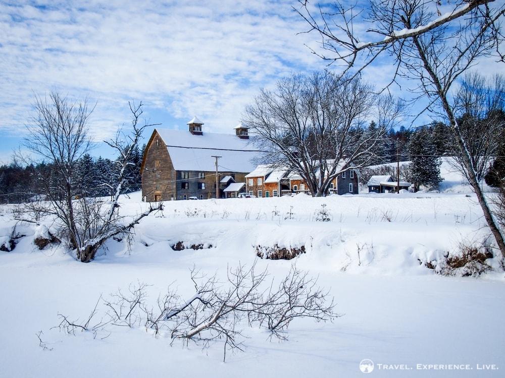 Beautiful farmhouse in central Vermont