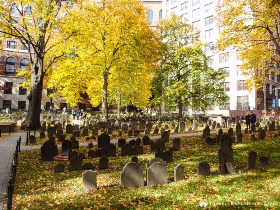 Granary Burying Ground, Boston, MA