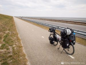 Crossing the Enclosure Dam, the Netherlands