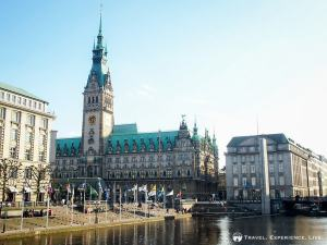 The gorgeous Town Hall of Hamburg, Germany