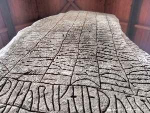 Rök Runestone, Sweden