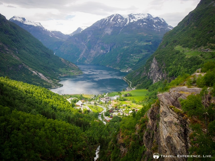 The majestic Geirangerfjord, Norway