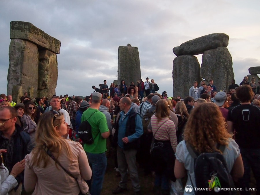 A summer solstice party at Stonehenge
