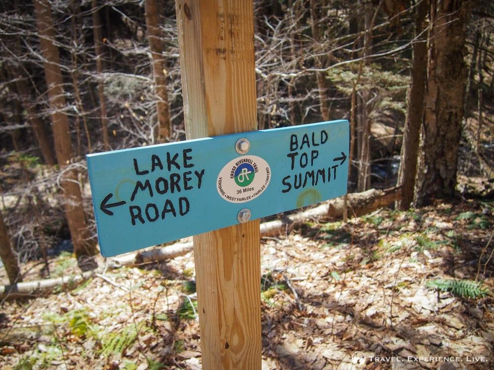 Bald Top Mountain Trail, Vermont