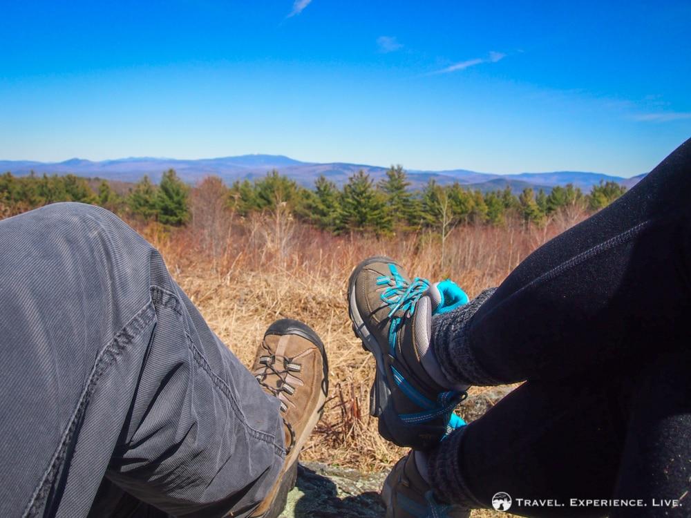 Hiking Bald Top Mountain