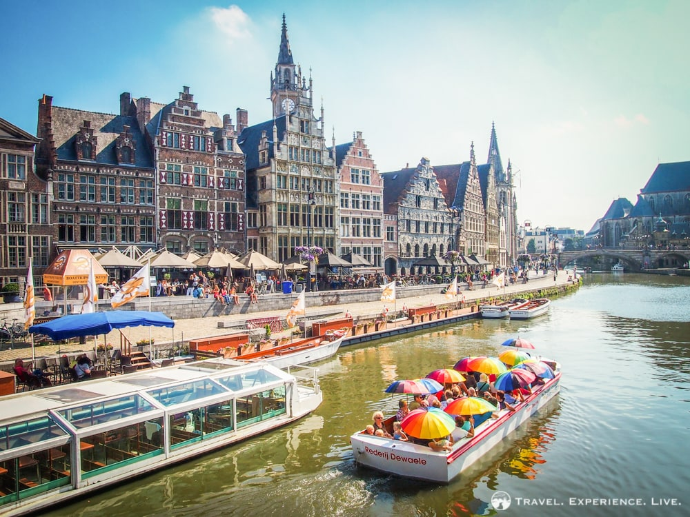 Essential Activities to do in Belgium: Architecture in Ghent