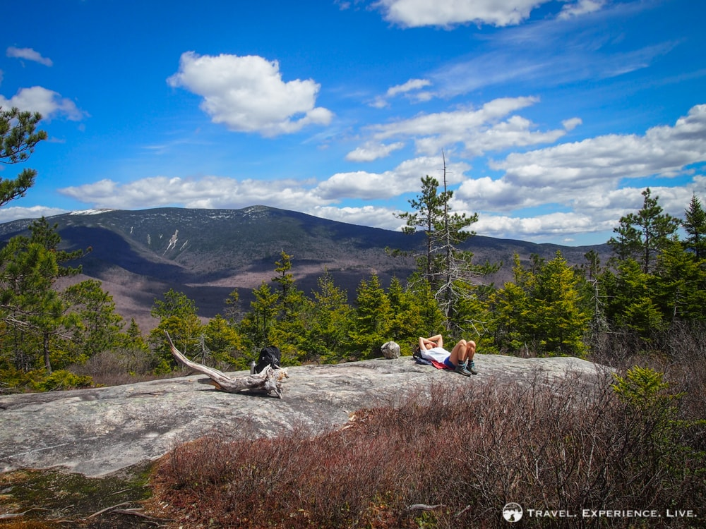 View of Mount Moosilauke from Blueberry Mountain