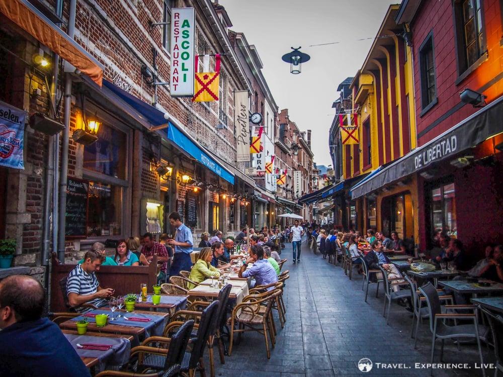 Essential Activities to do in Belgium: Muntstraat in Leuven, Belgium