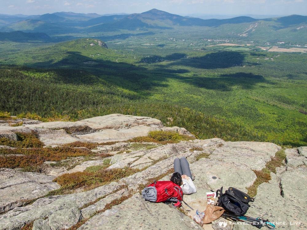 Break on South Moat Mountain Summit