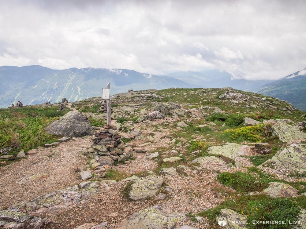 Hiking Trail on Mount Washington