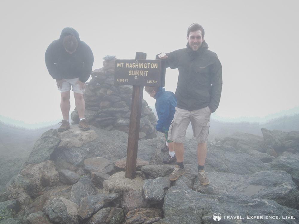 Misty Summit of Mount Washington
