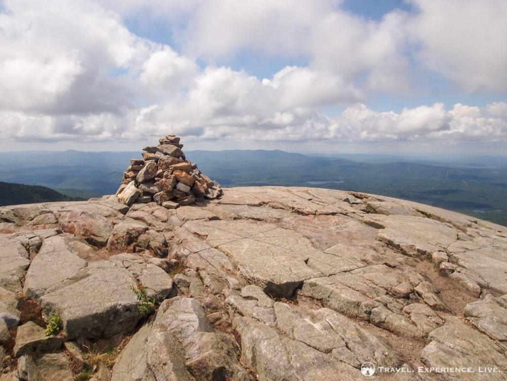 Cairn on the Mount Kearsarge summit