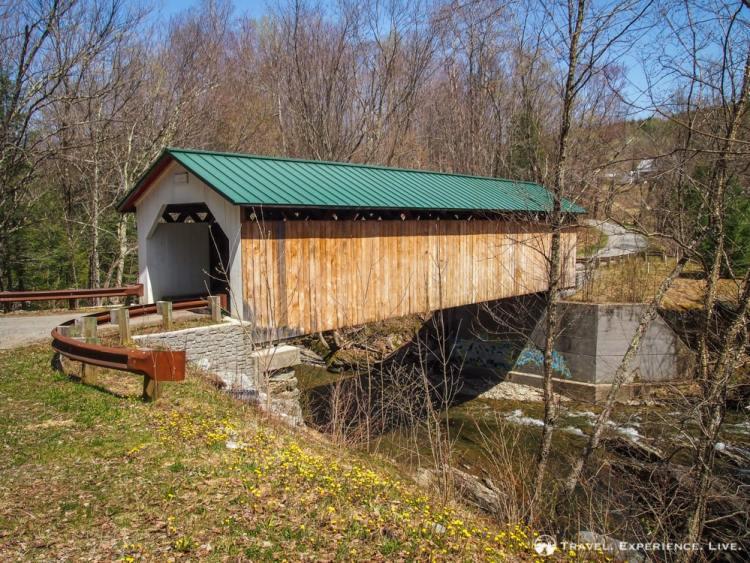 Hutchins Covered Bridge, Montgomery, Vermont