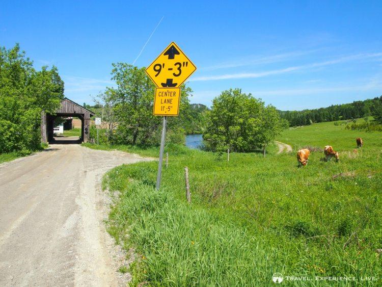 Scribner Bridge, Johnson, Covered Bridges in Vermont