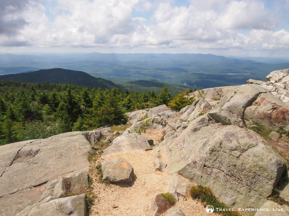 Hiking Mount Kearsarge, summit view