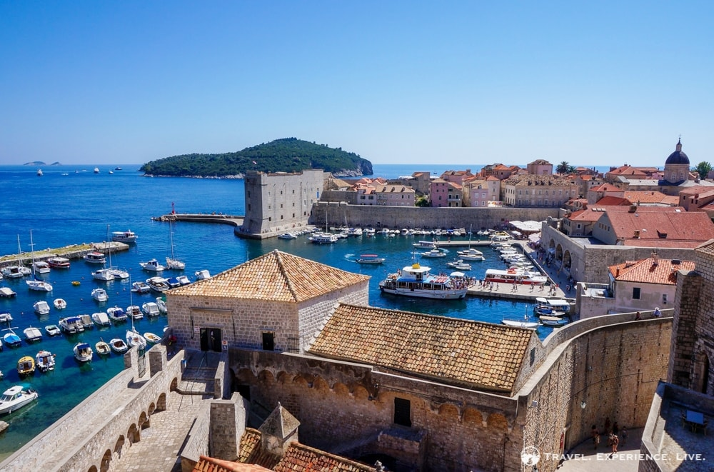 Three Days in Dubrovnik: Dubrovnik harbor