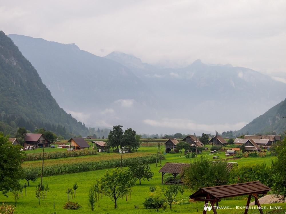 Hayracks in Bohinj, Slovenia