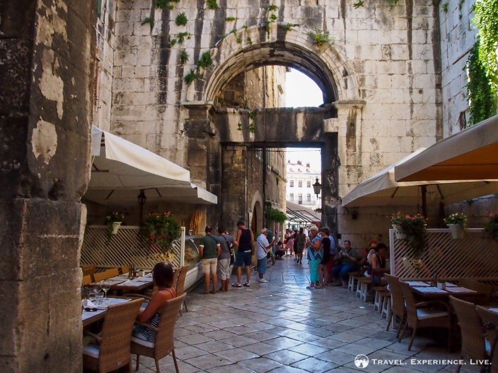 Restaurants in Medieval Split