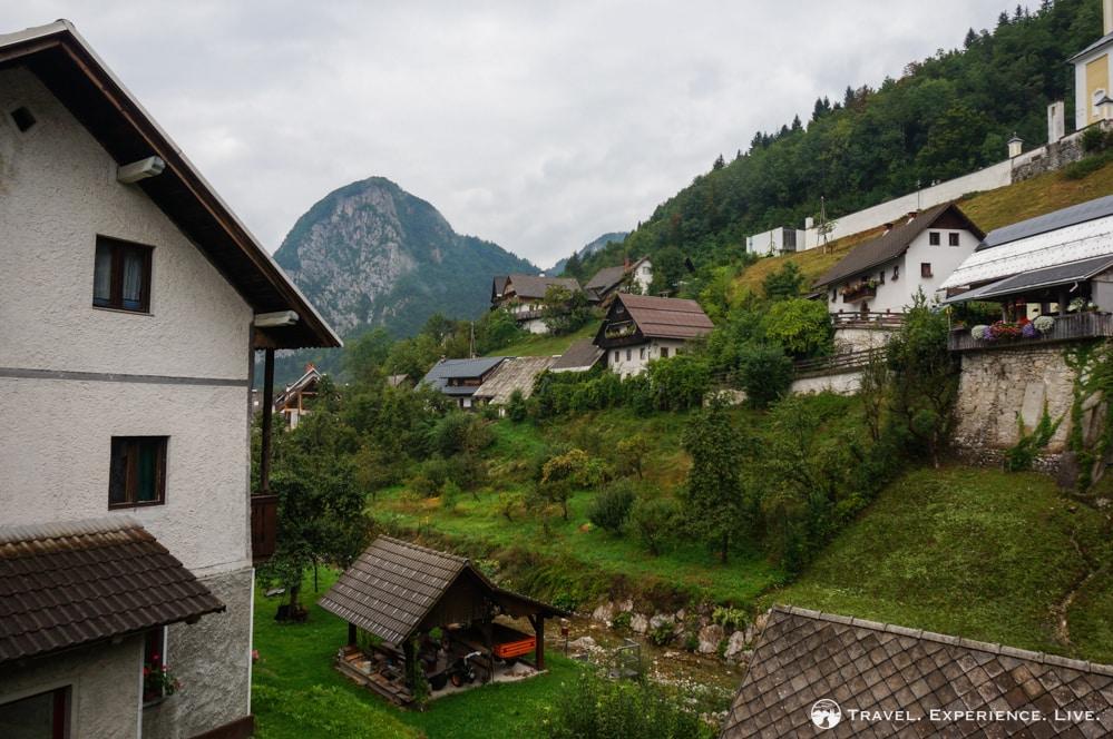 Houses in Stara Fužina, Bohinj