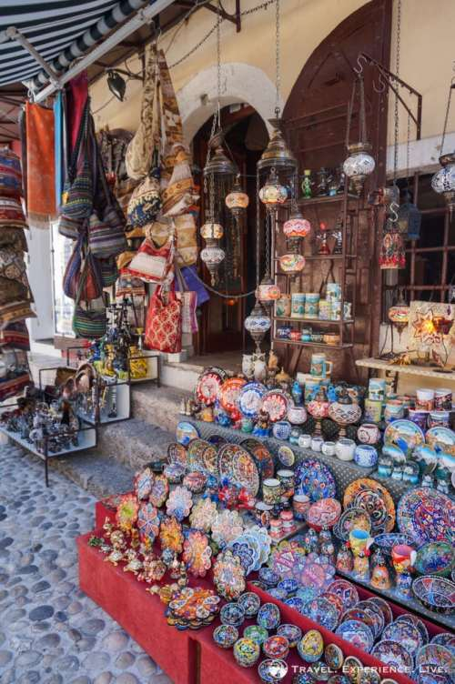 Photos of Mostar: Pottery and cloth store in Mostar Old Town