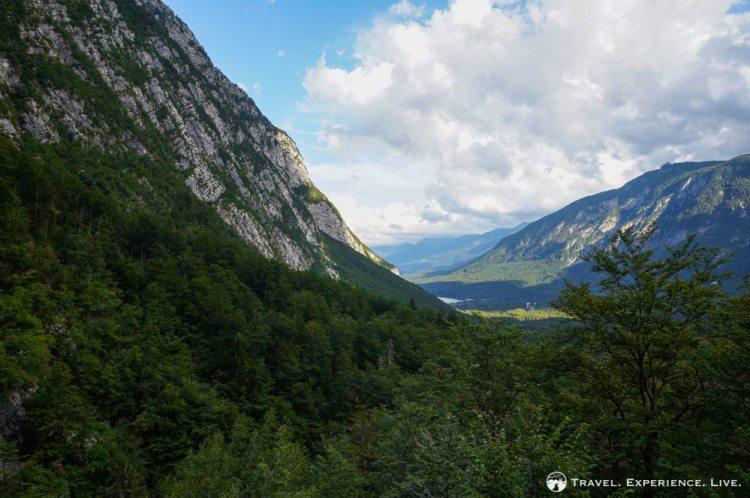 View of Bohinj Valley